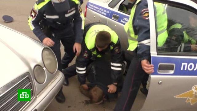 Напавшему на инспектора кировчанину грозит реальный срок.ДТП, Киров, нападения, пьяные, полиция.НТВ.Ru: новости, видео, программы телеканала НТВ