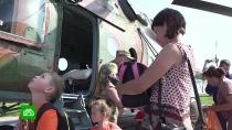 Сотни росгвардейцев помогают жителям Приангарья бороться споследствиями паводка