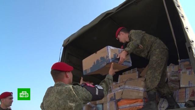Впострадавший от наводнения Тулун доставили 5тонн гуманитарного груза.Иркутская область, Путин, Росгвардия, наводнения.НТВ.Ru: новости, видео, программы телеканала НТВ