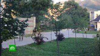 Спецназ возобновил штурм резиденции бывшего президента Киргизии