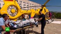 ВДТП под Новороссийском пострадали туристы из 12регионов