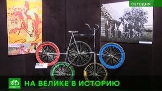 В Петербурге можно увидеть олимпийский велосипед Солнечного клоуна