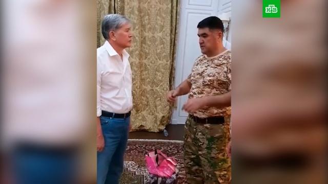 Видео задержания экс-президента Киргизии Атамбаева.Киргизия, беспорядки, задержание.НТВ.Ru: новости, видео, программы телеканала НТВ
