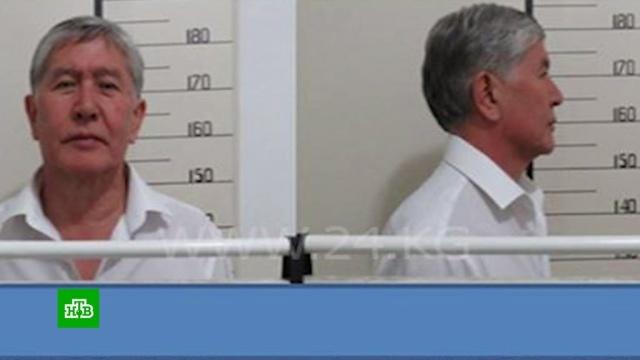 Атамбаева обвинили вкоррупции иарестовали после многочасового допроса.Киргизия, беспорядки, задержание.НТВ.Ru: новости, видео, программы телеканала НТВ