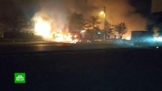 ВИнгушетии на газовой заправке прогремел взрыв, есть пострадавшие