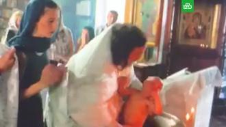 Крещение ребенка в Гатчине закончилось скандалом