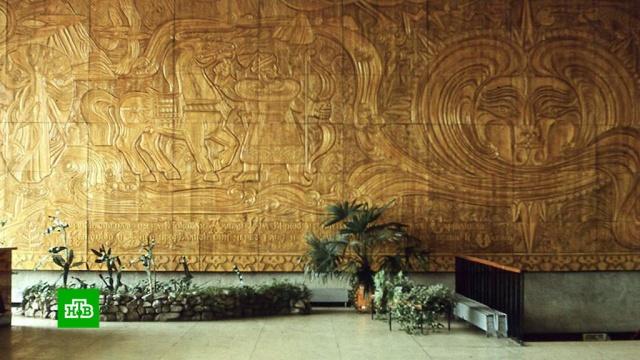 Исчезнувшее 16 лет назад панно всплыло на интернет-аукционе.Новосибирск, аукционы, живопись и художники, искусство.НТВ.Ru: новости, видео, программы телеканала НТВ
