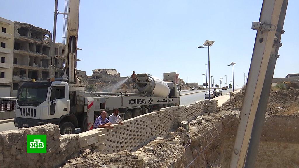 ВСирии восстанавливают разрушенные войной города