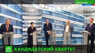 Кандидаты в губернаторы Петербурга встретились в прямом эфире