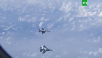 Истребитель НАТО подлетел к самолету Шойгу над Балтикой