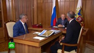 Путин проверил строительство трассы «Таврида»