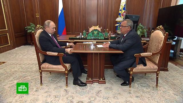 Глава ВТБ пообещал снижение ставок по ипотеке к концу года.ВТБ, Путин, ипотека.НТВ.Ru: новости, видео, программы телеканала НТВ