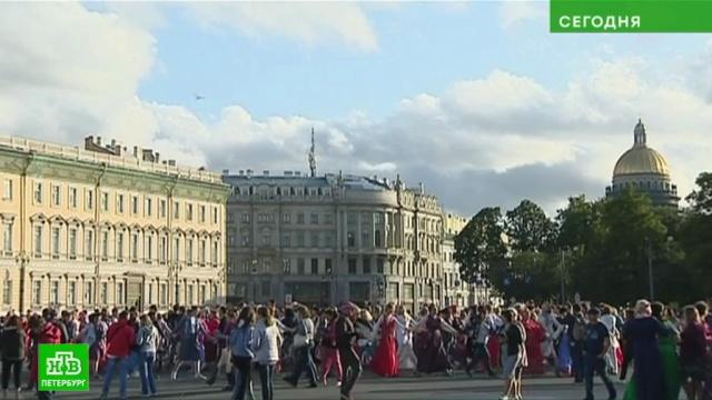 «Хоровод мира» собрал в центре Петербурга сотни участников.Санкт-Петербург.НТВ.Ru: новости, видео, программы телеканала НТВ