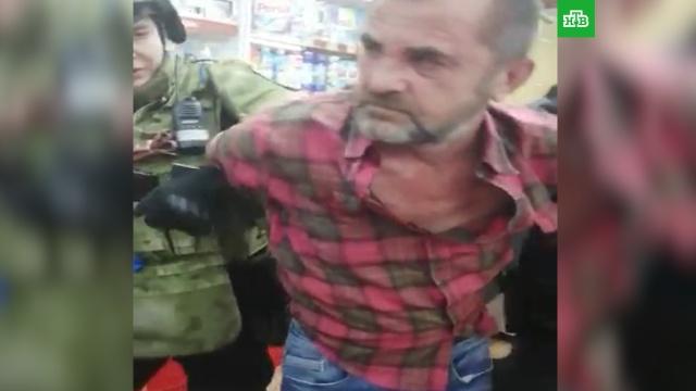 Полиция задержала вооруженного любителя коньяка из Котельников.НТВ.Ru: новости, видео, программы телеканала НТВ
