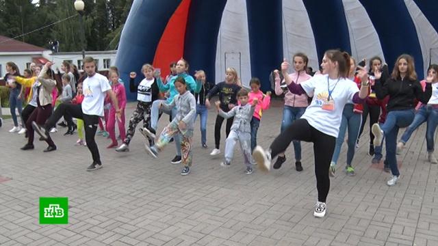 Дети из затопленного Тулуна приехали в лагерь под Ярославлем.Иркутск, Иркутская область, дети и подростки, наводнения.НТВ.Ru: новости, видео, программы телеканала НТВ