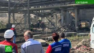 Двое рабочих погибли под завалами цеха в Ленобласти