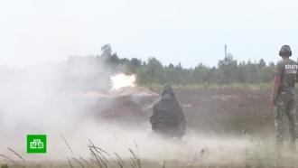 Российская команда победила в танковом биатлоне на Армейских играх