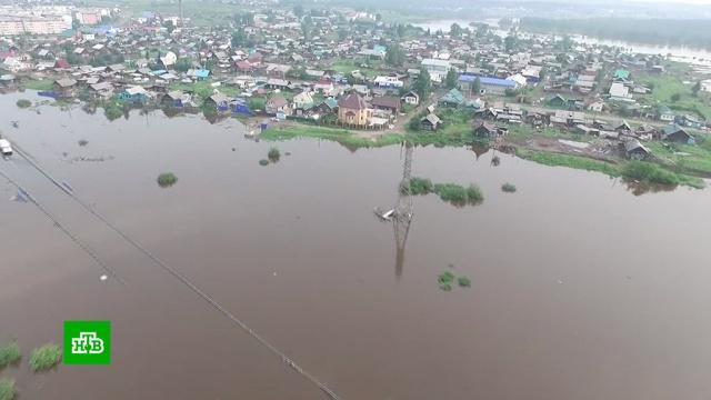 ВТулуне идет масштабное строительство после наводнений.Иркутская область, наводнения.НТВ.Ru: новости, видео, программы телеканала НТВ