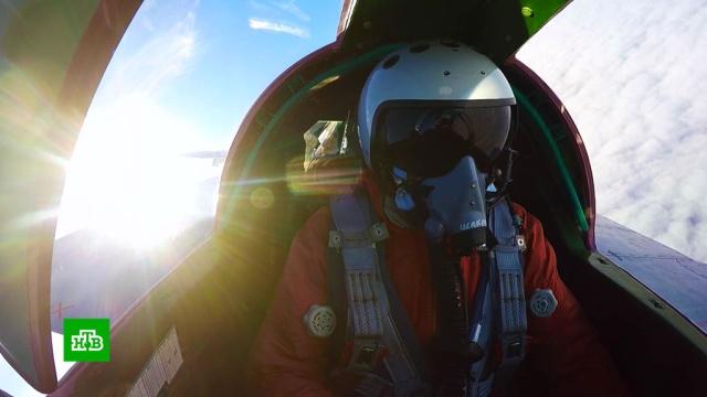 Бой на запредельной высоте: истребители МиГ-31БМ сразились в стратосфере.авиация, армия и флот РФ.НТВ.Ru: новости, видео, программы телеканала НТВ