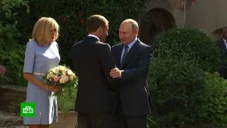 Макрон объявил оперезагрузке отношений сРоссией