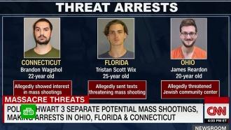 ВСША задержали троих подозреваемых вподготовке массовых расстрелов
