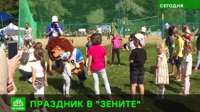 Волейбольный «Зенит» устроил праздник для фанатов.Санкт-Петербург, волейбол, спорт.НТВ.Ru: новости, видео, программы телеканала НТВ