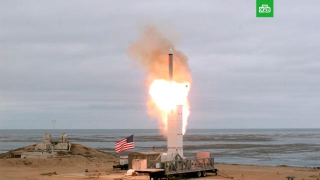 ВСША испытали запрещенную ДРСМД неядерную крылатую ракету.США, вооружение, запуски ракет, оружие.НТВ.Ru: новости, видео, программы телеканала НТВ