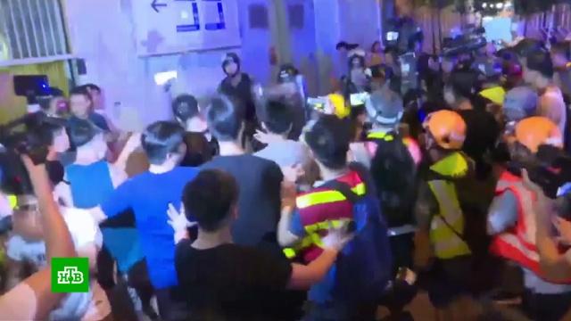 Власти Гонконга создадут платформу для диалога с протестующими.Гонконг, Китай, митинги и протесты.НТВ.Ru: новости, видео, программы телеканала НТВ