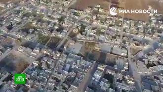Появились кадры битвы за стратегически важный сирийский город