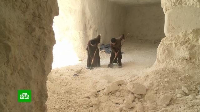 Монахи и верующие в Сирии восстанавливают древнюю христианскую обитель.Сирия, монастыри, реконструкция и реставрация, религия, христианство.НТВ.Ru: новости, видео, программы телеканала НТВ