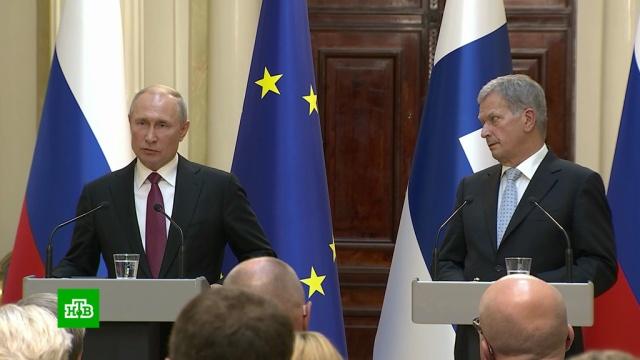 Путин не увидел в московских протестах ничего уникального.Москва, Путин, митинги и протесты.НТВ.Ru: новости, видео, программы телеканала НТВ