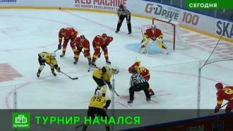В Петербурге стартовал хоккейный турнир имени Пучкова