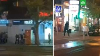 Один человек убит в ночной перестрелке в Краснодаре