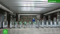 Врио губернатора Петербурга проинспектировал новые станции Фрунзенского радиуса метро