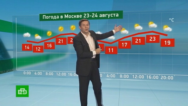 Утренний прогноз погоды на 23августа.погода, прогноз погоды.НТВ.Ru: новости, видео, программы телеканала НТВ