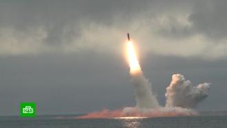 Пуски ракет «Синева» и «Булава»