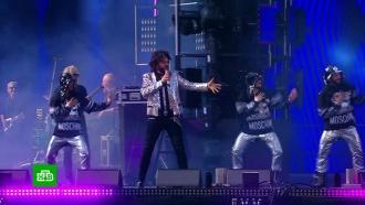 Концерт вцентре Москвы собрал более 100тысяч человек