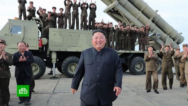 В КНДР испытали новую сверхкрупную ракетную установку.Северная Корея, военные испытания, запуски ракет, ракеты.НТВ.Ru: новости, видео, программы телеканала НТВ
