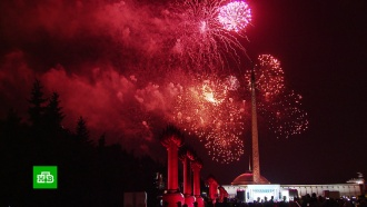 Московский салют в честь 75-летия освобождения Кишинёва