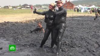 Фестиваль лечебной грязи прошел на Ставрополье