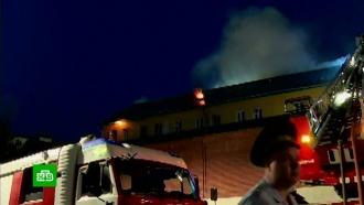 Пожар вспыхнул вженском Рождественском монастыре вМоскве