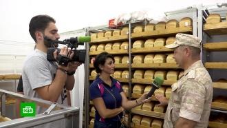 На базах Хмеймим иТартус устроили день открытых дверей для иностранной прессы