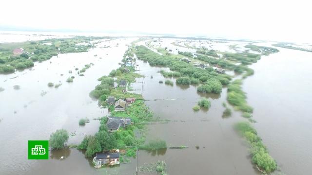 Несколько сел вПриморье отрезаны от цивилизации после ливней.Владивосток, Приморье, наводнения.НТВ.Ru: новости, видео, программы телеканала НТВ