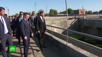 Медведев потребовал не срывать сроки работ по оздоровлению Волги
