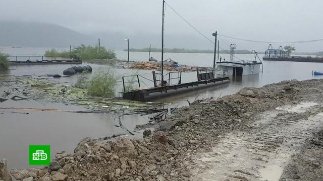 В затопленных районах Дальнего Востока продолжает прибывать вода.Дальний Восток, Еврейская АО, Приморье, Хабаровский край, наводнения.НТВ.Ru: новости, видео, программы телеканала НТВ