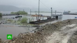 В затопленных районах Дальнего Востока продолжает прибывать вода