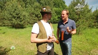 Белорусские вабельщики научили ведущего НТВ реветь, как олениха