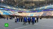 В Петербурге российский гимн исполнят 40 тысяч человек
