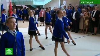 День знаний в петербургской Академии танца начался с «Полонеза»