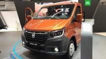 ГАЗ представил новую «ГАЗель NN».Фургон нового поколения «ГАЗель NN» представил Горьковский автозавод на выставке Comtrans 2019.ГАЗ, автомобильная промышленность.НТВ.Ru: новости, видео, программы телеканала НТВ